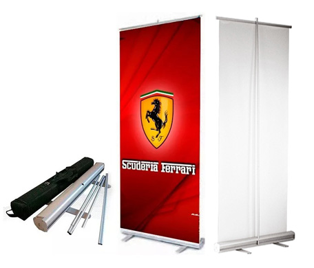 Banner roll-out